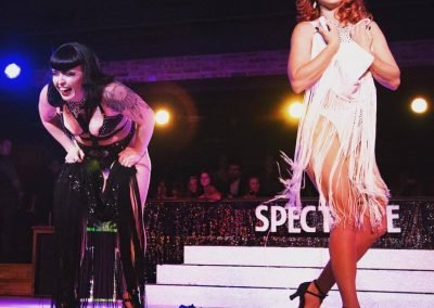 Australia Burlesque Artist Dancers Kelly Ann Doll & Bettie Bombshell