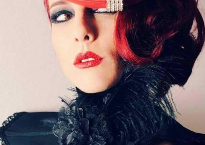 Sydney Australia Burlesque Artist Kelly Ann Doll