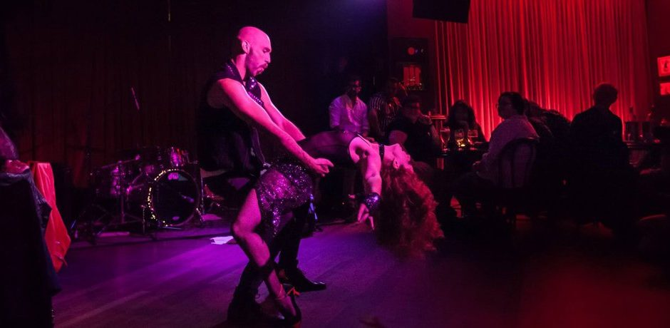 Sydney Burlesque Dancer Kelly Ann Doll & The Tasteless Gentleman