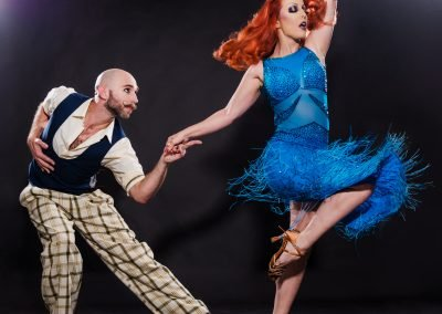Sydney Australia Burlesque Dancers Kelly Ann Doll & The Tasteless Gentleman