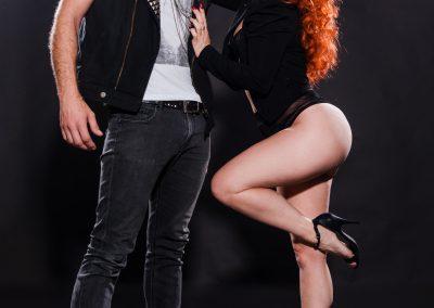 Sydney Australia Burlesque Artists Kelly Ann Doll & The Tasteless Gentleman