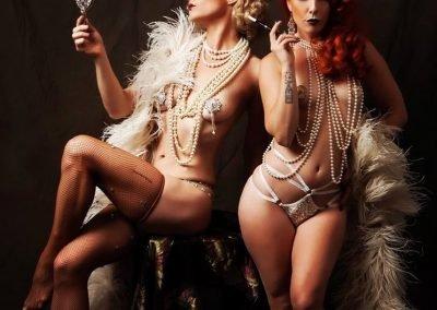 Sydney Burlesque Dancers Kelly Ann Doll & Diesel Darling