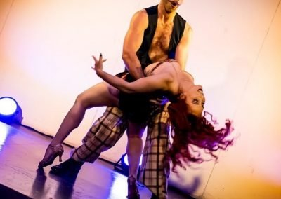 Sydney Burlesque Dancers Kelly Ann Doll & The Tasteless Gentleman