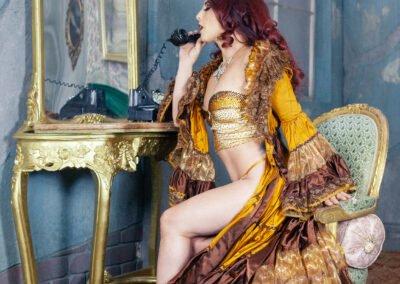 Sydney Burlesque Dancer Kelly Ann Doll 2
