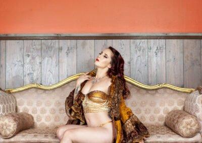Sydney Burlesque Dancer Kelly Ann Doll